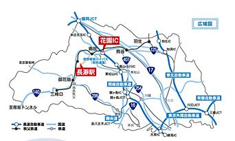 埼玉県広域図