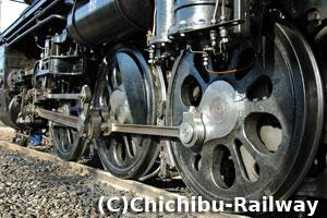 C58363の動輪