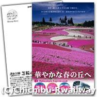芝桜のオリジナルポストカード