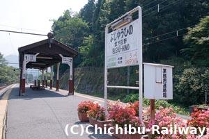 武州日野駅ホーム